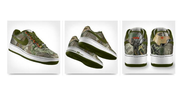 "Nike Air Force 1 Low iD ""Realtree"""