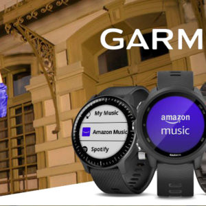 Garmin e Amazon Music