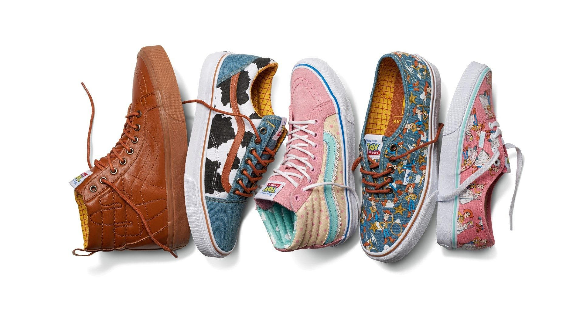 vans collezione toy story