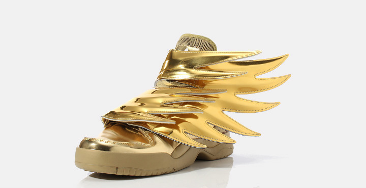 Jeremy Scott x adidas Wings 3.0 is gold. | Complex