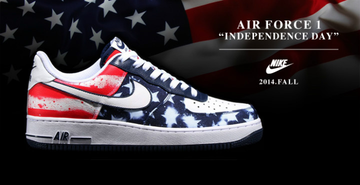Nike Air Force 1 Low Independence Day 2014 | Run Like Never
